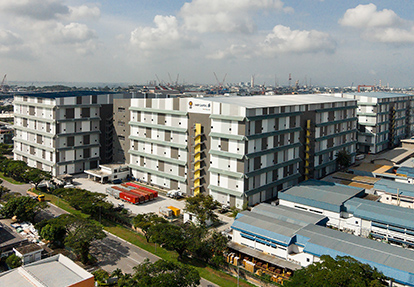 logistics and warehouse rental in west Singapore